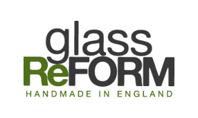 Glass ReFORM recycled and upcycled glassware gifts