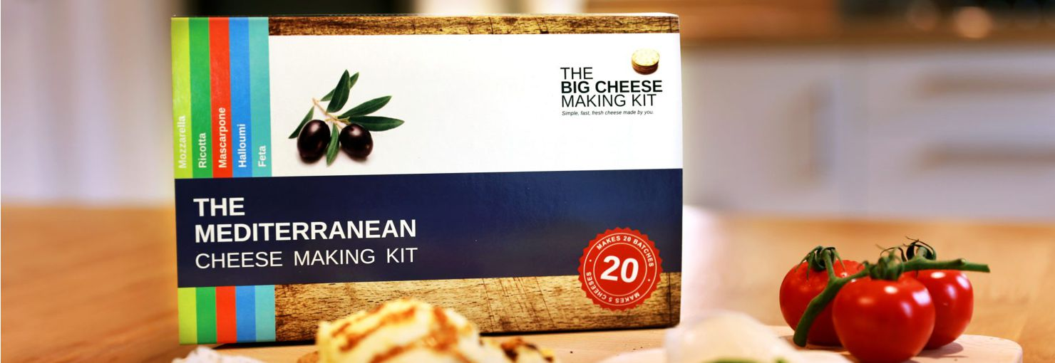The BIG Cheese Making Kits